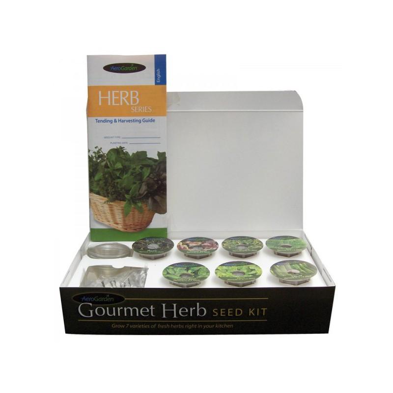 aerogarden kit semences fines herbes semences herbes. Black Bedroom Furniture Sets. Home Design Ideas