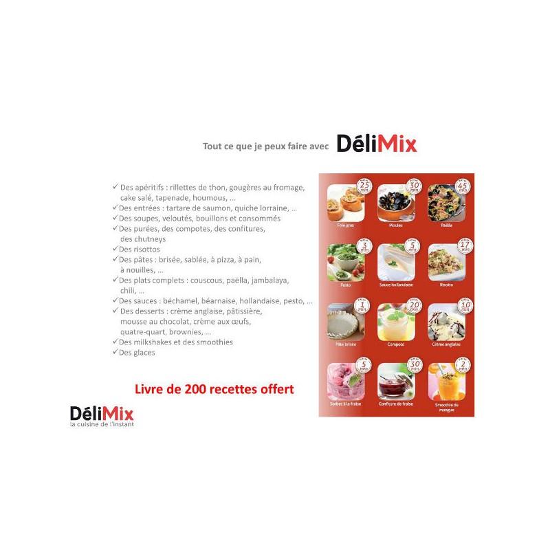 Avis delimix qc350 simeo gallery of spatule delimix with avis delimix qc350 simeo avis delimix - Livre de recette pour robot multifonction cuiseur ...
