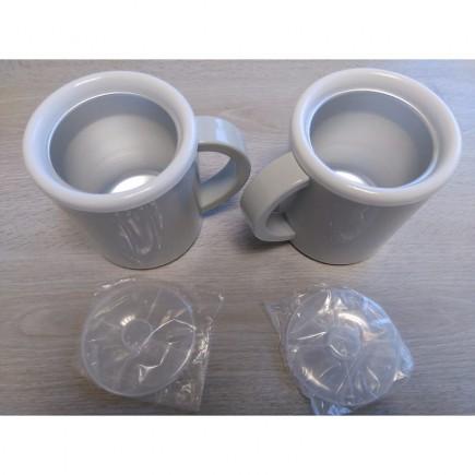 Mugs sorbetière double Siméo PF200