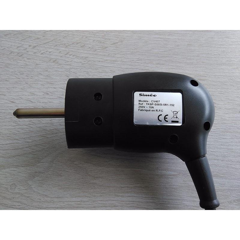 prise thermostat pour cv407  cv416 plancha  u00e9lectrique sim u00e9o