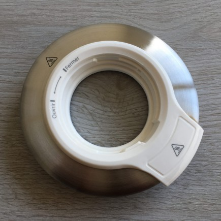 couvercle theiere yunnan creme BT620A