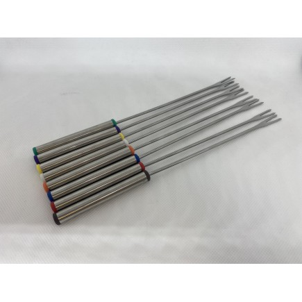 Lot de 8 fourchettes de QFD340 Riviera-et-Bar