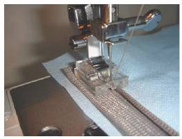 fermeture glissiere machine coudre